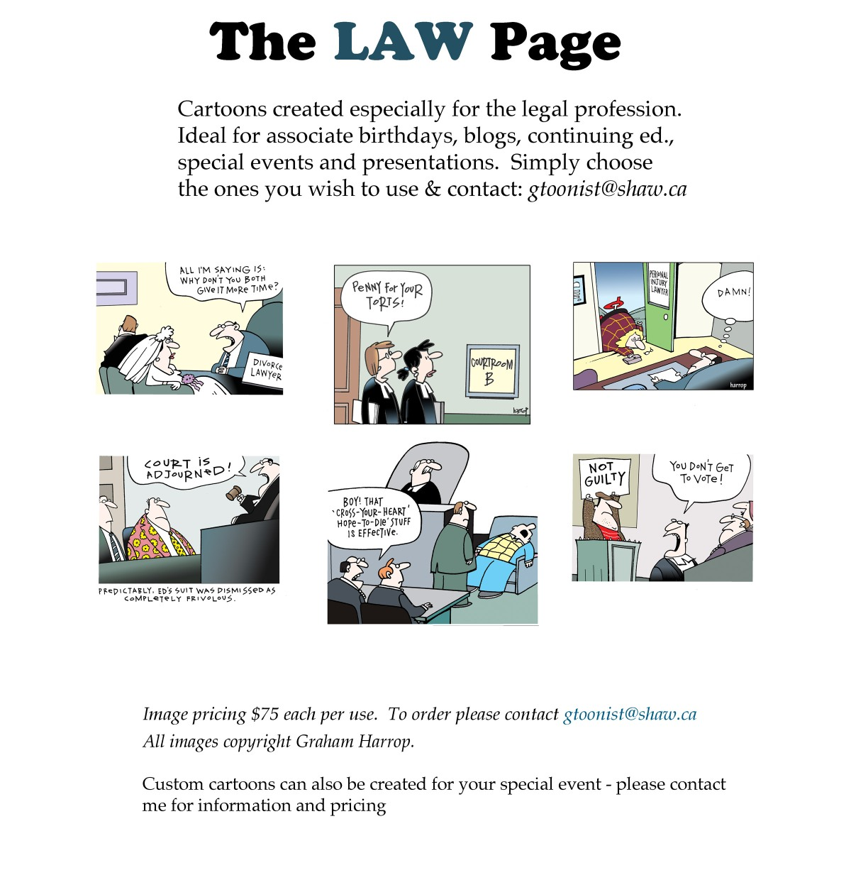 The Law Page copy
