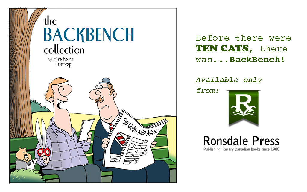 badge for TEN CATS page-BackBench